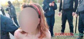 У Харкові затримали голу жінку, в якої в пакеті виявили відрізану голову