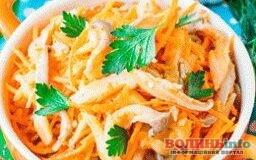 Постимо смачно: гливи по-корейські з морквою та цибулею