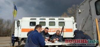 У ДСНС показали побут пожежних, які борються з вогнем у Чорнобильській зоні