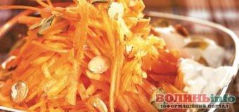 Постимо смачно: салат з моркви та соняшникового насіння