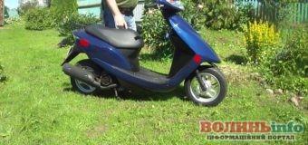 У Нововолинську спіймали крадія скутера