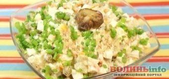 Постимо смачно: теплий салат з квасолею та грибами