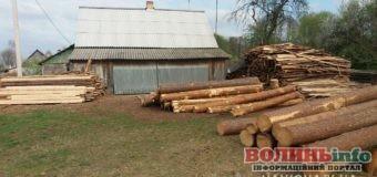 У Ковелі вилучили понад 100 колод деревини без документів