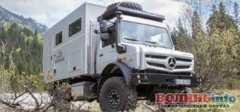 В Україні помітили рідкісний будинок-позашляховик від Mercedes
