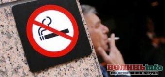 За куріння в громадських та заборонених місцях передбачено притягнення до відповідальністі