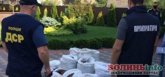 858 кг бурштину-сирцю на суму 30 млн гривень вилучили на Рівненщині