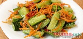 Огірки по-корейськи: смачно, швидко, гостро