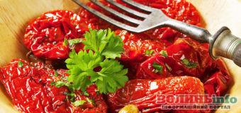 Приготуй в'ялені помідори і побалуй усіх італійською диковинкою