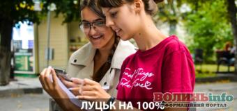 «Луцьк на 100% – лучан запрошують на інтерактивне опитування