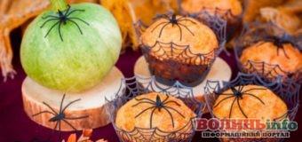 Гарбузово-вівсяні кекси з шоколадом для дітей