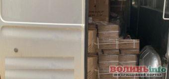 Замість «запчастини для тракторів» – аксесуари до відеоапаратури: на Ягодині спіймали контрабанду
