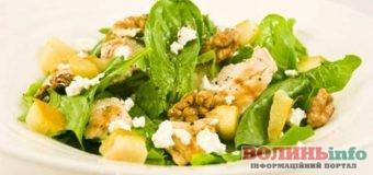 Салати з грушею: посмакуйте ресторанною стравою вдома