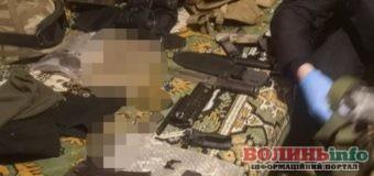 У лучанина вдома знайшли цілий арсенал зброї