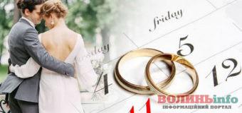 Календар весіль на 2021 рік: які дні сприятливі для шлюбу наступного року