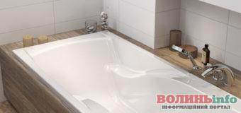 Почему прямоугольные акриловые ванны так популярны? Обзор моделей до 5000 грн