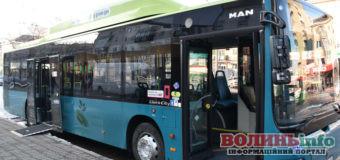 В Луцьку сьогодні почнуть курсувати екологічні автобуси