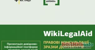 Два роки «WikiLegalAid»: понад 1900 правових консультацій та майже 6,5 млн переглядів