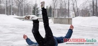 Що робити при падінні на лід розповіли у МОЗ