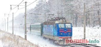 """""""Укрзалізниця"""" запускає додатковий поїзд на час новорічних свят."""