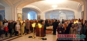 Різдвяні богослужіння у Соборі Всіх Святих Землі Волинської: розклад