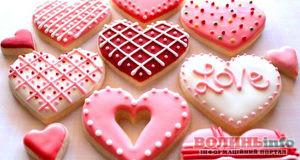 Валентинка: готуємо солодке печиво-валентинку коханим