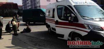 На переході у Луцьку легковик збив двох дітей