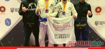 Спортсмени клубу GARDA стали призерами фіналу Кубку України з грепплінгу