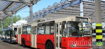 Старенький тролейбус з Луцька тепер возить туристів у Польщі