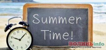 Цих вихідних переводимо годинники на літній час