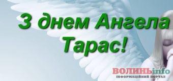 З Днем ангела, Тарасе!
