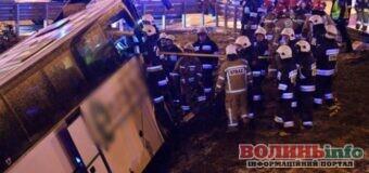 Автобус з українцями потрапив у ДТП в Польщі. Водій загинув.