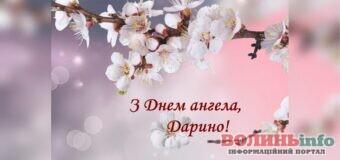 День ангела Дарини: щирі вітання та побажання