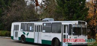 Тролейбус №3а курсуватиме Луцьком спеціально на великодній тиждень