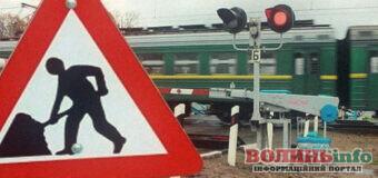 Увага! У Ковелі перекрили залізничний переїзд на два тижні
