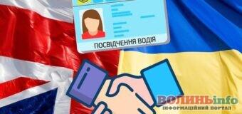 Україна та Велика Британія запроваджують обмін посвідчень водія