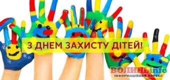 1 червня – День захисту дітей – привітання зі святом