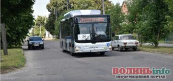 На маршрут № 24 випустили п'ять екологічних автобусів MAN А21