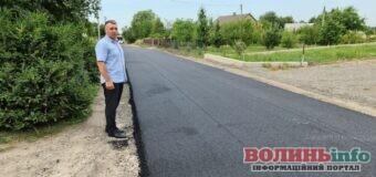 Показали перші результати ремонту вулиці Сільська у Струмівці