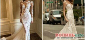 Модні тренди весільних суконь 2021-2022: зверніть увагу на мінімалізм або пір'я зі стразами