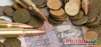 Внесок волинян в обороноздатність країни перевищив 300 мільйонів гривень військового збору