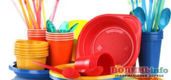 Відмовитися від пластикового посуду у планах у Кабміну