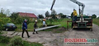 У двох селах Підгайцівської громади завершується реконструкція вуличного освітлення
