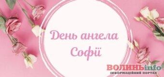 Софія, з Днем ангела вітання