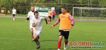 Футболісти «Волині» зіграли товариський матч з фанами клубу