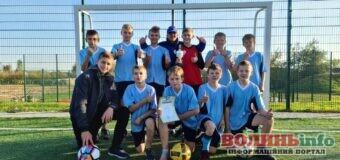 Команда футболістів з Гаразджі отримала перемогу в турнірі Підгайцівської громади серед гімназистів