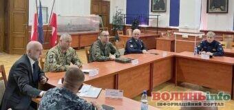 Українські офіцери вивчають досвід польських колег