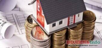 Волинські власники нерухомості сплатили до бюджетів громад 100 мільйонів гривень податку
