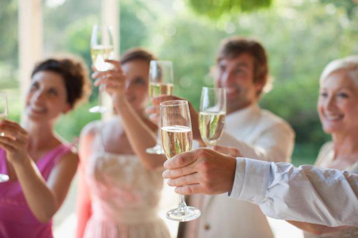 Красивые тосты от невесты